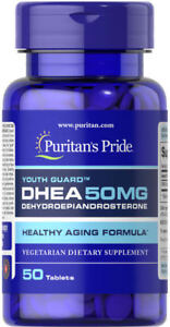 Puritan-039-s-Pride-DHEA-50-mg-50-Tablets-free-shipping