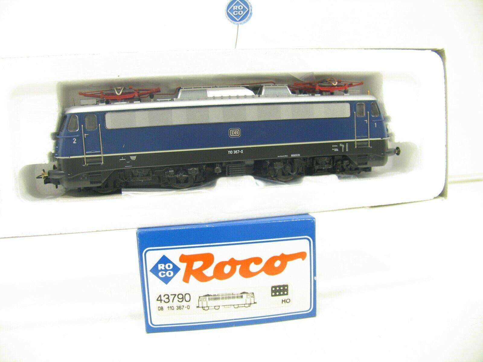 Roco 43790 e-Lok br 110 azul de la DB js912