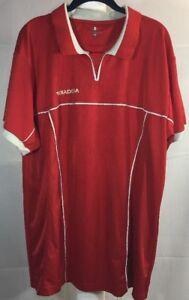 2d2b071b830 VTG Diadora Mens XL XLarge Red   White Soccer Football Jersey 90s ...