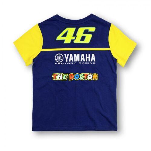 YDKTS 166009 New Official Valentino Rossi VR46 Dual Yamaha Kids TShirt