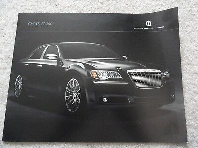 2011 Chrysler 300 Accessories Sales Brochure