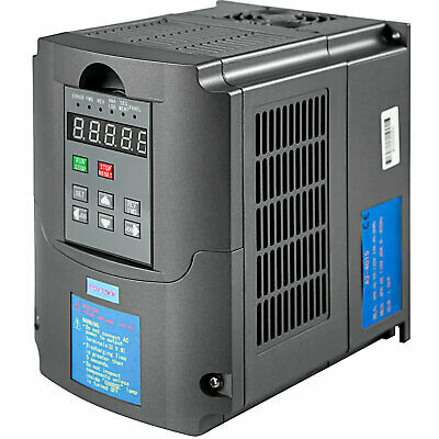 GEARFLAG Inverter VFD 3 Phase Output 110//220V 1.5kW 2HP variable frequency drive