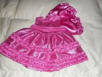 Girls American Princess By Special Occasions Sequin Pink Dress Size 6 Mo