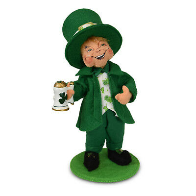Patrick/'s Day 12in Leprechaun Plush New with Tags Annalee Dolls 2019 St
