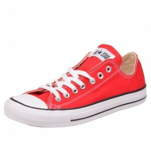 Converse All Star Ox Chaussures Chuck Red Rouge m9696