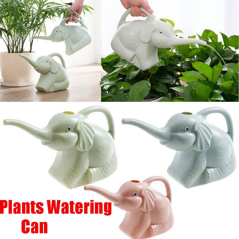 Mini Gardening Supplies Elephant Shape Plants Sprinkler Watering Can Plastic