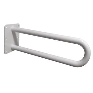 Stützgriffe Haltegriffe für barrierefreies Bad weiß 60 cm DN 32 mm
