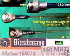 GLASFIEBER ANTENNE HIRSCHMANN MOBA 1560 MARINE FLUG AMATEUR CB FUNK FUNKGERÄT BW