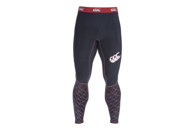 2a6f88164a Canterbury Mens Mercury TCR Compression Leggings Pants Sports Training