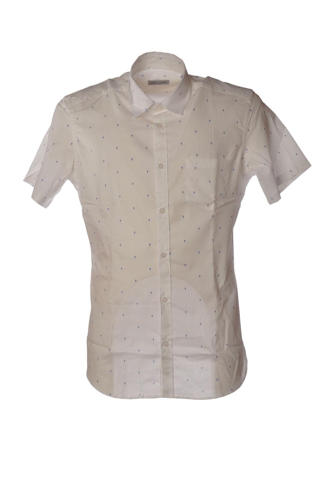 Daniele Alessandrini - Shirts-Shirts - Man - Weiß - 5218031G184758