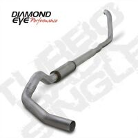 Diamond Eye K5322a 5 Turbo-back Exhaust, Single, Alum, For 99-03 Ford