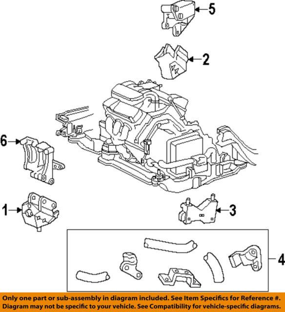 Oem Ford Left Engine Motor Mount F58z6038a For 9500 Windstar 30l Rhebay: Ford Windstar Motor Mount Locations At Gmaili.net
