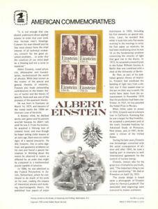 109-15c-Albert-Einstein-1774-USPS-Commemorative-Stamp-Panel