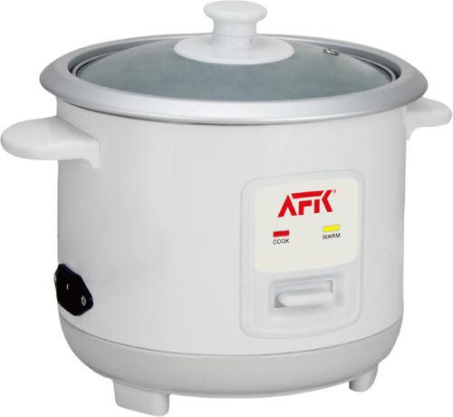 Reiskocher Warmhaltefunktion Dampf Reis Kocher Dampfgarer 0,6 Liter 350 Watt Neu