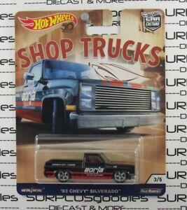 hot wheels 2018 car culture shop trucks 1983 39 83 chevy. Black Bedroom Furniture Sets. Home Design Ideas