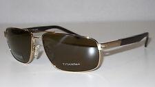 OCCHIALI DA SOLE NUOVI New Sunglasses ESCHENBACH Outlet -50% Titanio/Lenti polar