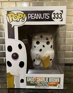 Peanuts The Great Pumpkin #333 Ghost Charlie Brown Funko Pop