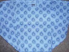 Longaberger Weekender Over the Edge Basket Liner ~ Provincial Paisley Fabric
