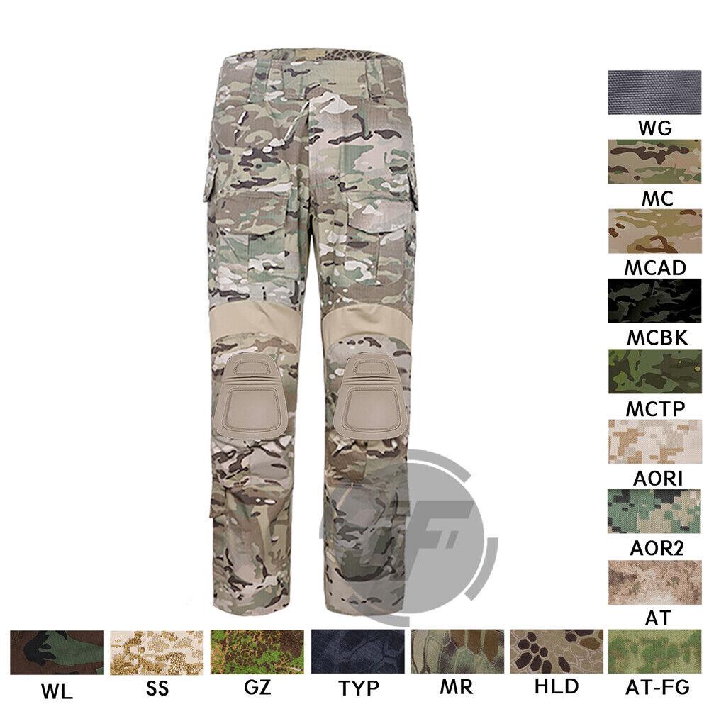 Tactical Emerson New BDU G3 Combat Hose Hosen Assault Uniform Knee Pads