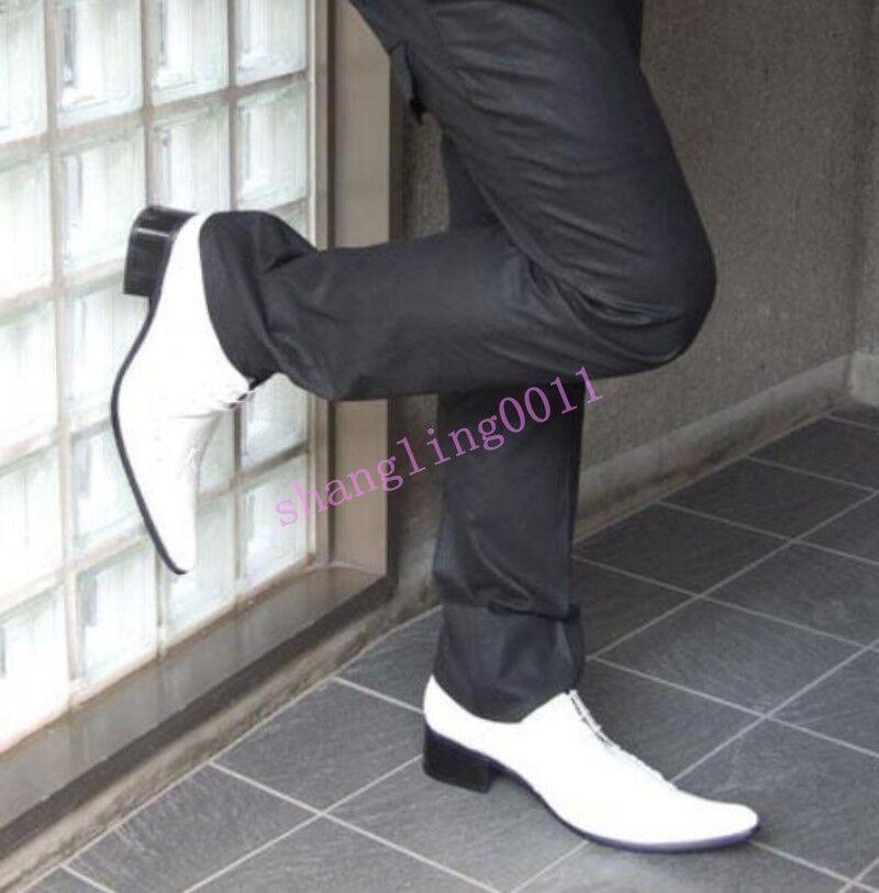 Para Hombre Otoño Vestido Formal Con Cordones Puntera Puntiaguda Negocios Elegantes Zapatos Bombas Tacones Elegantes Negocios c0c266