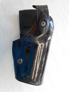 Desantis 014PC4CZ0 Black Right Hand Die Hard Ankle Holster Rig For Sig P938