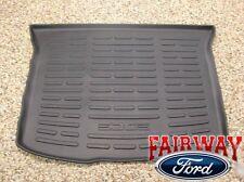 2011 thru 2014 Edge OEM Ford Parts Black Cargo Area Protector Mat Liner w/ Logo