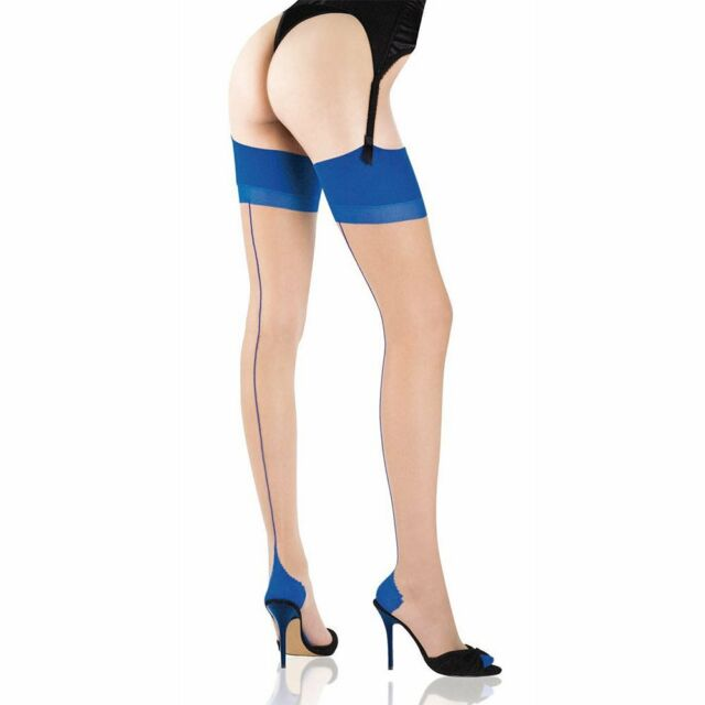 Cervin Seduction Bicolore non-stretch seamed stockings