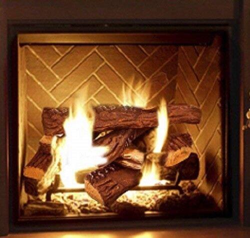 Miraculous Ceramic Logs Fake Wood Flame 10 Pcs Fireplace Ethanol Gel Electric Gas Firepits Download Free Architecture Designs Scobabritishbridgeorg
