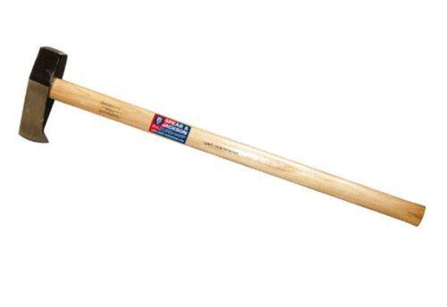 Log Splitting Maul Hickory Shaft carbone S.... environ 2.95 kg Spear /& Jackson-Razorsharp 6.5 LB