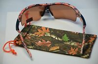 Sports Wrap Night Driving Glasses Camouflage Sunglasses H/d Lens