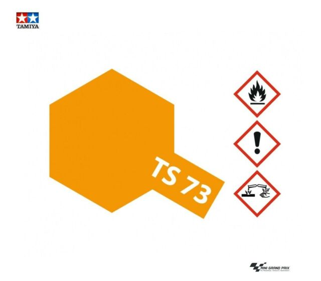 Tamiya 85073 Spray Ts 73 Peinture Email Couleur Orange Translucide