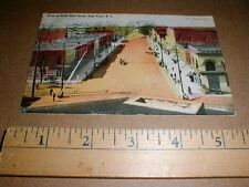 1907 North Main St High Point NC North Carolina Vintage original old Postcard