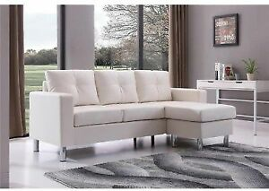 Small Space Convertible Sectional Sofa for sale online | eBay