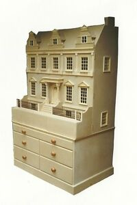 Doll-House-1-12-Scale-The-City-House-KIT-Large-Not-including-base-by-DHD