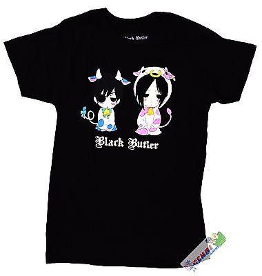**License** Black Butler Sebastian & Ciel T Shirt #59028