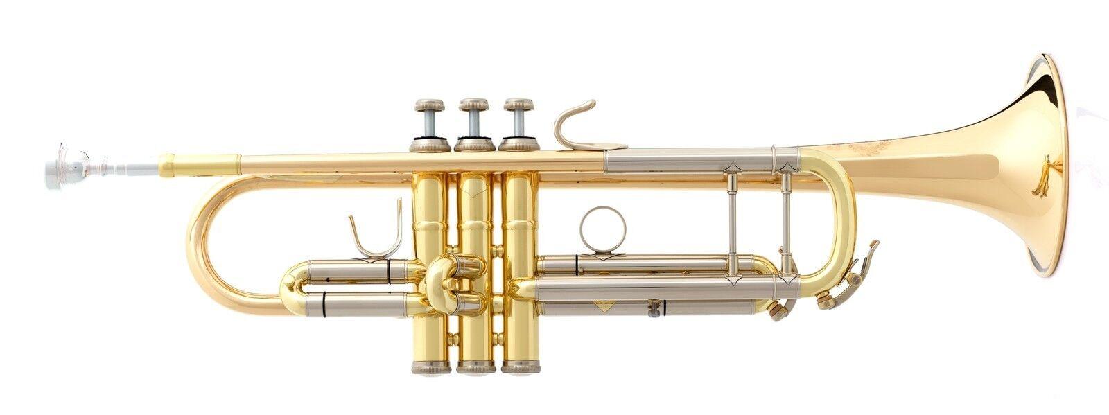 B&S Trompete Challenger I Mod. 3137 G mit Koffer u. Zubehör  Made in Germany