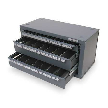 """Huot Three Drawer Fractional Tap Dispenser Cabinet for Sizes 1 4/"""" 20 to 1/"""" 12 for sale online"""