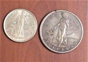 1907 fifty centavos filipinas coin
