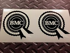 BMC Rosette Helmet Car Classic Retro Car Decals Stickers 2 off 95mm