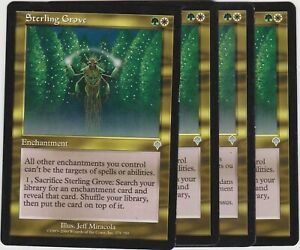 Sterling-Grove-x4-Magic-the-Gathering-Invasion