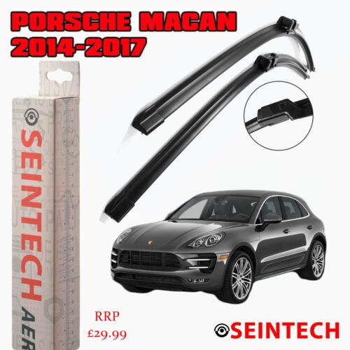 """Porsche Macan 2014-2017 spécifique Fit pare-brise Balais d/'essuie-glace 24/"""" 20/"""""""
