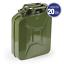 Tanica-carburante-omologata-metallo-benzina-militare-5-10-20-lt-diesel-gasolio miniatura 5