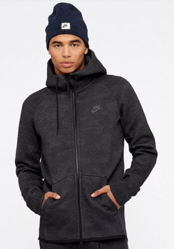 Midnight Zip S Tech Fleece L Fog 038 Hoodie Full M 863814 Warm Nike nq8RCTZwxx