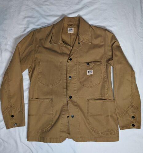 Lee Workwear Loco Chore Jacket sz M Khaki Tan Canv