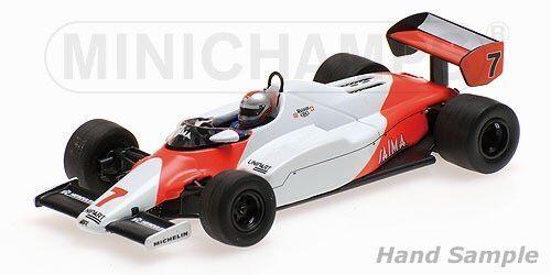 MINICHAMPS 530834307 McLaren Ford mp4-1c John Watson 1983 1 43 NOUVEAU & NEUF dans sa boîte