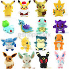 Pokemon Eevee Pikachu Snorlax Plush Soft Toy Stuffed Animals Doll Children Gifts
