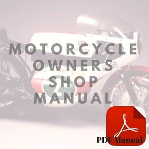 Yamaha-1970-HT1-Owner-039-s-Service-Motorcycle-Manual