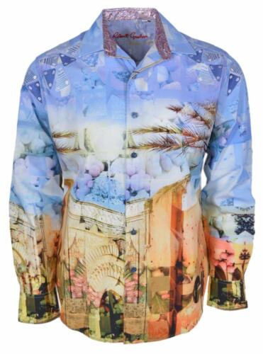 NEW Robert Graham Classic Fit URBAN SANDS Numbered Limited Edition Sport Shirt
