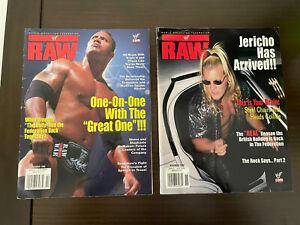 WWF Raw Magazine October 2000 WWE Chris Jericho Chyna