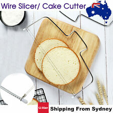 Cake Cutter Leveller Decorating Wire Slicer Cutting Decorator Tools Leveler OZ